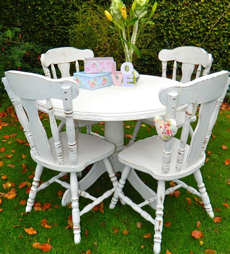 shabby chic dining table and chairs ideas top 50 shabby chic round dining table and chairs home decor ideas uk
