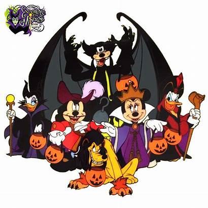 Halloween Disney Mickey Villains Mouse Parks Goofy