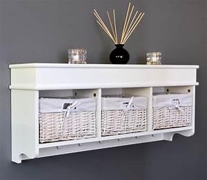 Küchen Regal : landhaus stil wand diele garderobe holz k chenregal mit 3 ~ Pilothousefishingboats.com Haus und Dekorationen