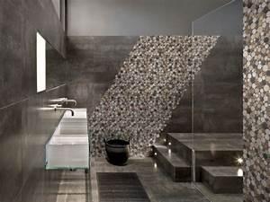 galet salle de bain edil magasin carrelage boissy saint With carrelage galets salle de bain