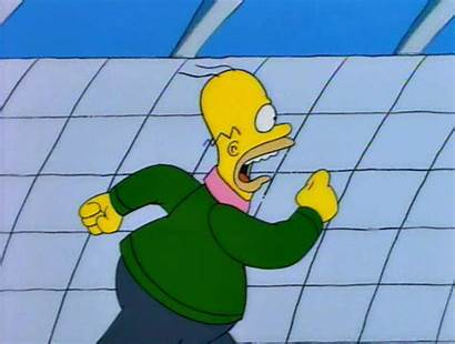 Gifs Through Stages Ends Leave Running Homer