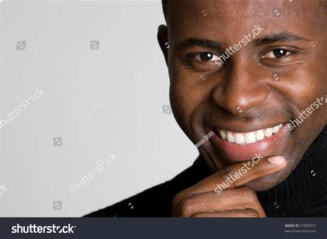 Black Stock Images Smiling Black Stock Photo 21892075
