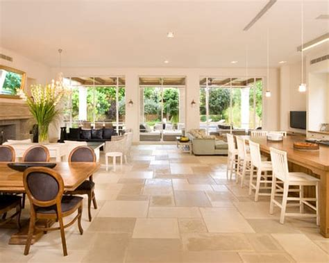 popular types  flooring  open floor plans home decor