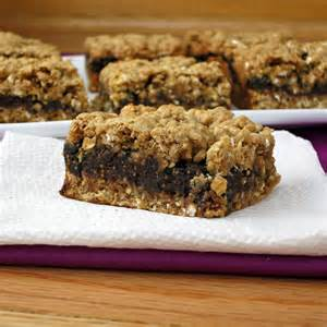 Fig Bar Recipes with Oatmeal