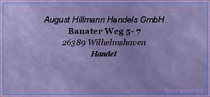 Sb Möbel Wilhelmshaven : august hillmann handels gmbh in wilhelmshaven handel ~ Orissabook.com Haus und Dekorationen