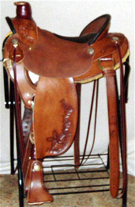 sharps saddlery custom saddles lightweight wade horse