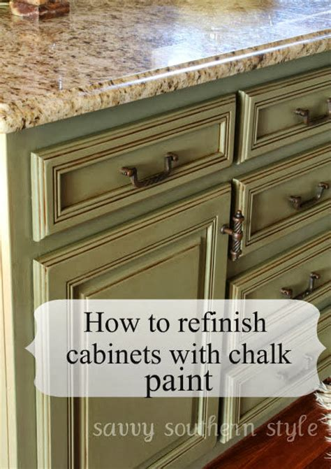 using chalk paint on kitchen cabinets 11 inexpensive ways to revamp your kitchen cabinets 187