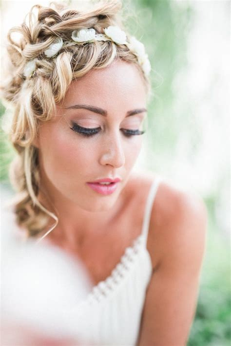 wedding hairstyles for medium length hair modwedding