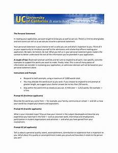 Uc Personal Statement Topics Writing Scholarly Papers Uc Personal