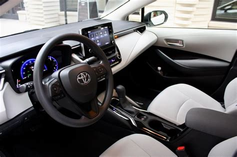 Toyota Corolla 2020 Interior by 2020 Toyota Corolla Sedan Driven Top Speed