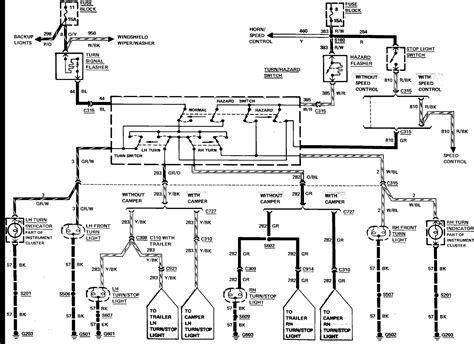 2008 Ford Econoline Wiring Diagram by Can You Get Me The Brake Turn Signal Lighting Circuit For