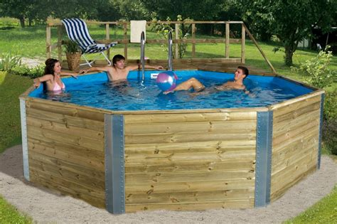 pool günstig bauen weka massivholzpool 593 b gr 1 476 215 376 cm fs montagen