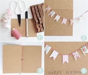 Geburtstagskarte Basteln Einfach : 25 einzigartige geburtstagskarten selbst machen ideen auf pinterest alles gute zum geburtstag ~ Orissabook.com Haus und Dekorationen