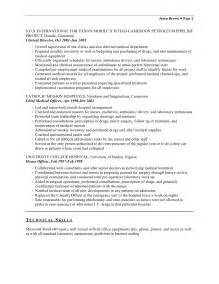 entry level phlebotomy resume resume exles qualifications sle objectives for resume field sales associate
