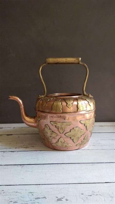 pin  doug day  copper tea pots