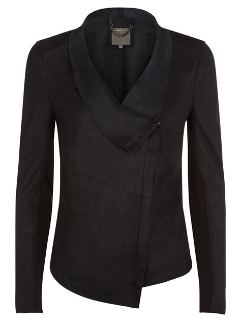 draped leather jacket louis black drape leather jacket