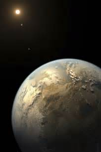 Kepler Space Telescope Earth