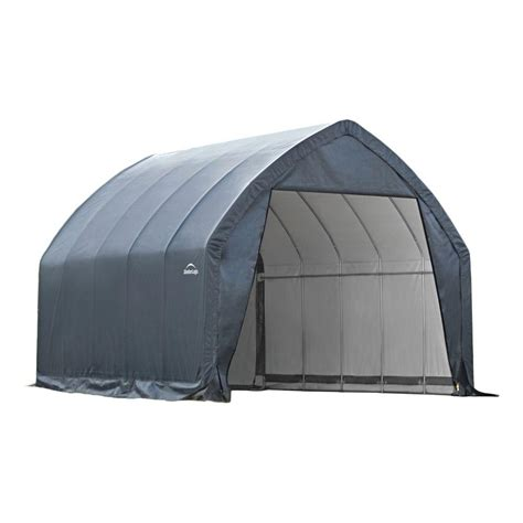Shelterlogic Shed In A Box Home Depot by Shelterlogic Garage In A Box 13 Ft X 20 Ft X 12 Ft