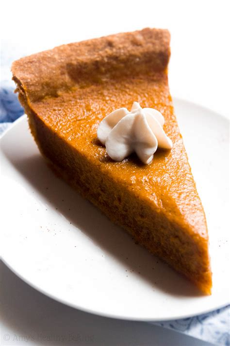 To make pumpkin pie, you will need a pumpkin, an egg, and sugar. The Ultimate Healthy Pumpkin Pie | Amy's Healthy Baking