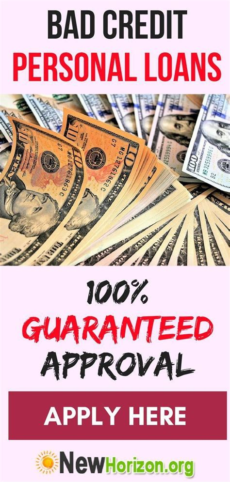 There are some cards that offer a maximum limit of a whopping $100,000. Bad Credit Personal Loans - 100% Guaranteed Approval | Bad credit personal loans, Personal loans ...