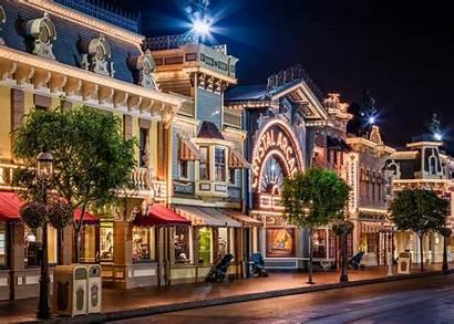 Disneyland Street Main California Usa Anaheim Wallpapers