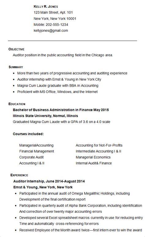 college resume sample project scope template