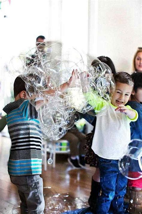 karas party ideas brother sister bubble themed birthday