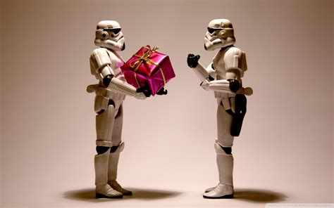 year gift star wars stormtroopers widescreen