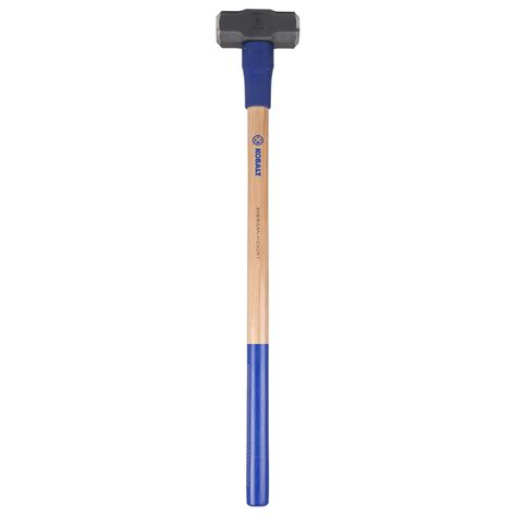 lowes flooring hammer shop kobalt 8 lb steel sledge hammer with 36 in hickory handle at lowes com