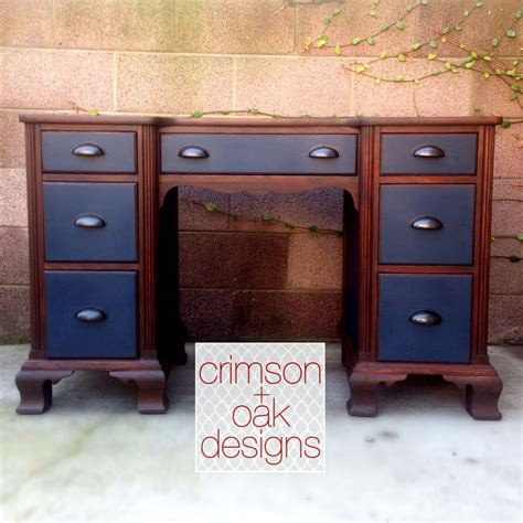 dashing desk  antique walnut gel stain general