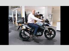 NEW! 2018 BMW G 310 GS Stock Sound and Walkaround YouTube