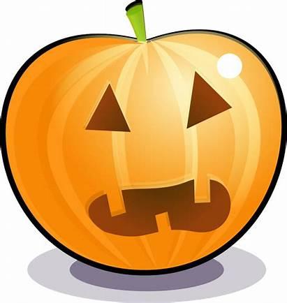 Scared Clipart Pumpkin Clip Halloween Scary Spooky