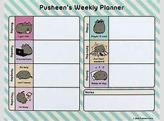 Pusheen weekley planner eBay