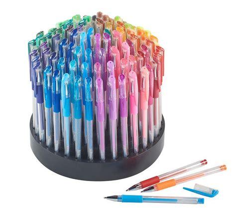 gel pens  rotating organizer assorted coloring