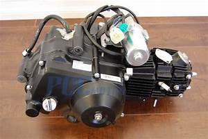 Semi Auto Engine 125cc Motor 3 Speed Reverse Atv Quad Go