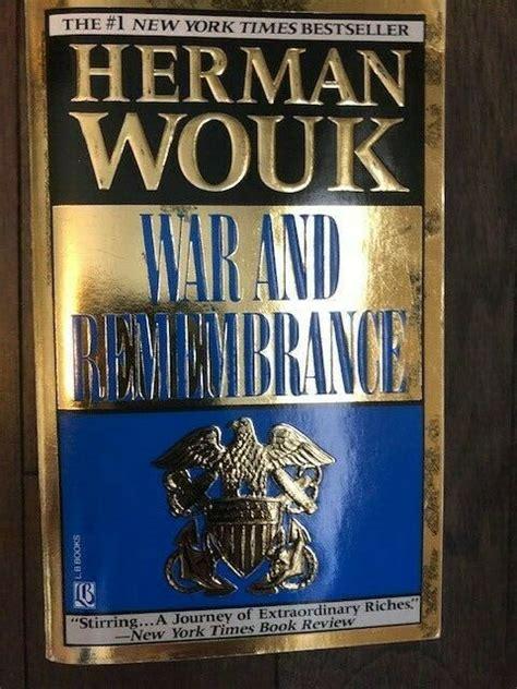 herman wouk remembrance war 1992 paperback