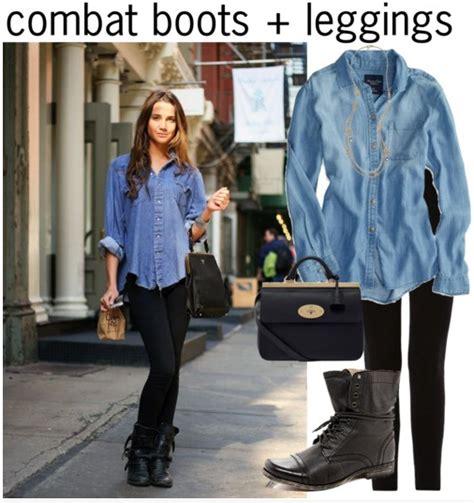 combat boots leggings ways style combat boots
