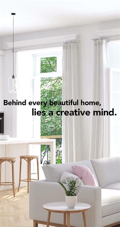 beautiful home lies  creative mind