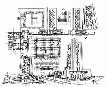 Building Commercial Cad Drawings Blocks Drawing Autocad