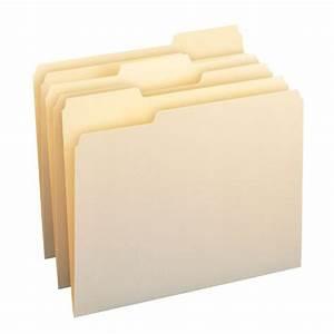 smead manila folder letter size 11 point 1 3 cut tab With letter size manila folders