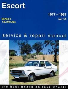 Ford Escort Mk 2 1977 1981 Gregorys Service Repair Manual