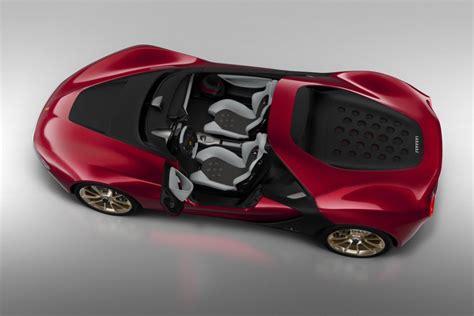 ferrari pininfarina sergio interior ferrari confirms plans for six pininfarina sergio speedsters
