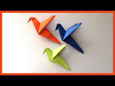 DIY Easy Paper Birds Origami | Simple Paper Crafts for Kids & Beginners - Craft Guru