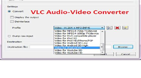 convert audio  video files   format