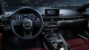 Wnętrze samochodu Audi A5 rocznik 2017