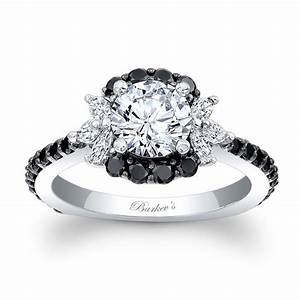 Black And White Diamond Rings Diamond Rings