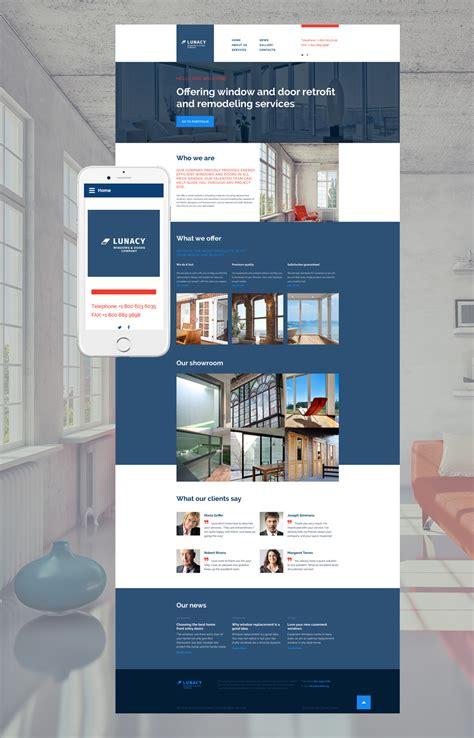 home decor web template