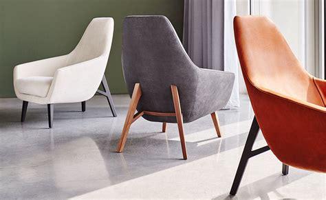 enzo lounge chair  wood base hivemoderncom