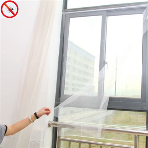 removable diy window screen mesh net insect mosquito fly