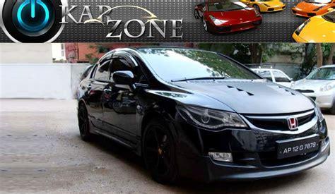 Civic Modifications India by Honda Civic Kit Car Performance Products Car